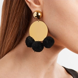 Ericdress Fashion Paillette&Ball Drop Fashion Earring