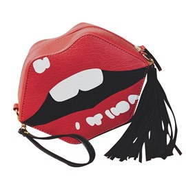 Ericdress Fashion Lips Shape Crossbody Bag