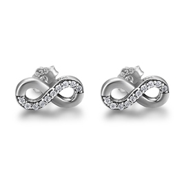 MarkChic Unique Design Imitation Diamond S925 Sterling Silver Studs