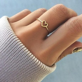 Ericdress Love Alloy Ring