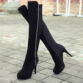 Ericdress Sexy Stiletto Heel Platform Knee High Boots