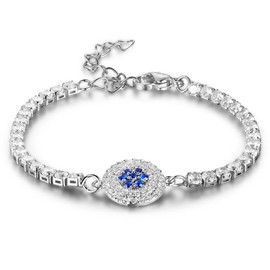 MarkChic Best Seller Sapphire Inlay Women's Bracelet