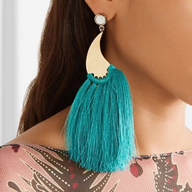 Ericdress Chic Rope Tassel Earring for Women