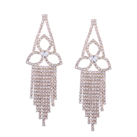 Ericdress Fully-Jewelled Tassel Accessories Women' Earring