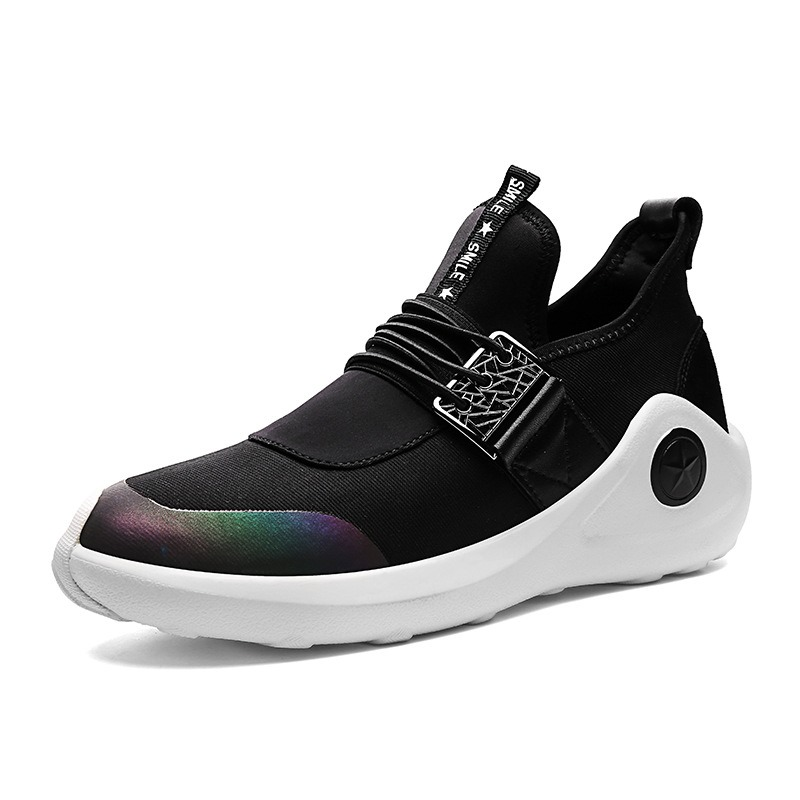 Ericdress Fashion Slip-On Patchwork Outdoors Mens Athletic Shoes