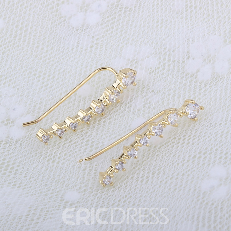 Ericdress High Quality Alloy Rhinestone Earring