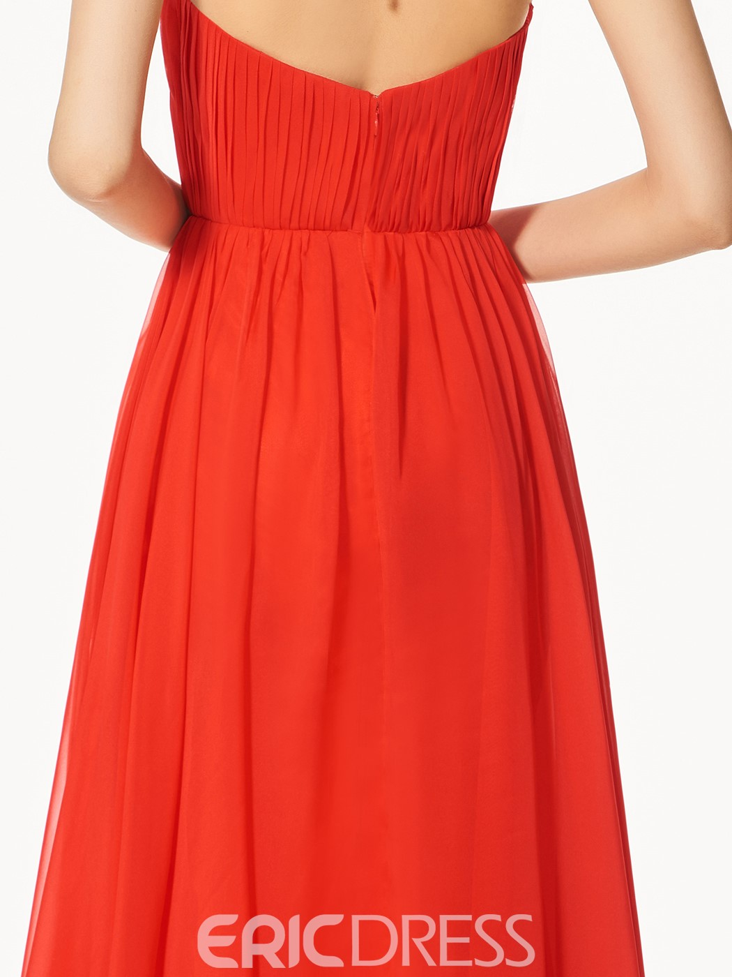 Ericdress A-Line Halter Appliques Backless Prom Dress In Floor-Length