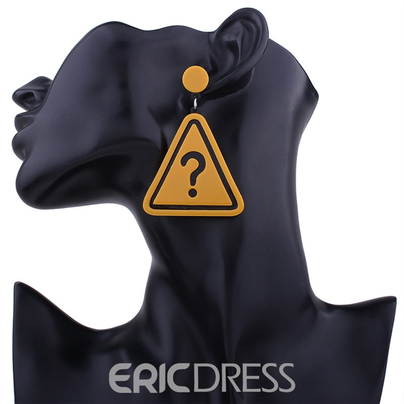 Ericdress Creative Traffic Icon Drop Earring