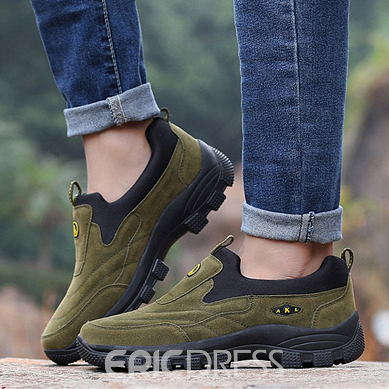 Ericdress New Arrival Color Block Outdoors Men's Hiking Shoes