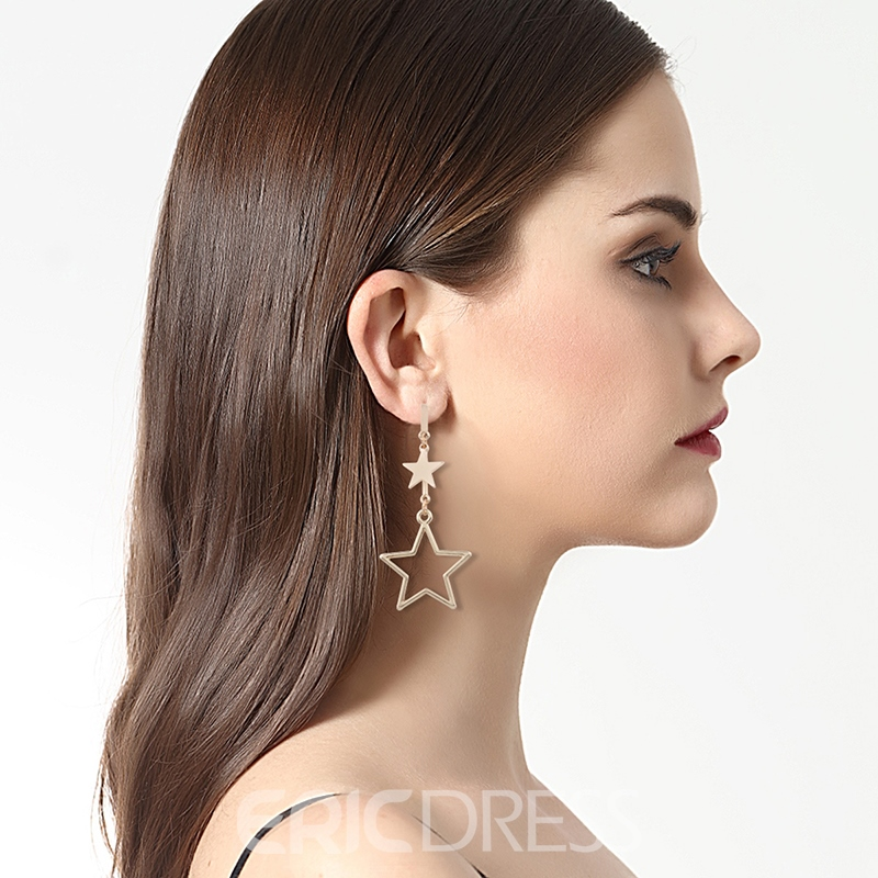 Ericdress Star Pendant Women's Drop Earring