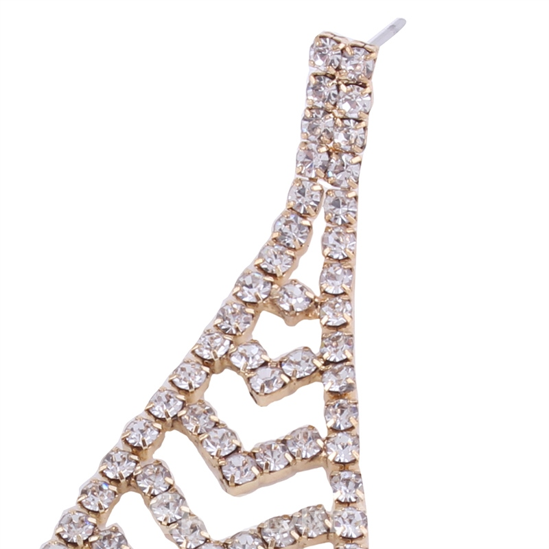 Ericdress Alluring Hollow Out Diamante Party Drop Earring