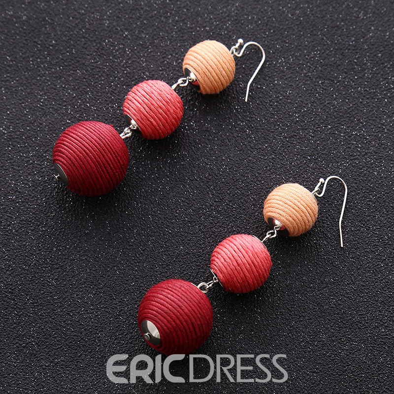 Ericdress Color Charming Women's Drop Earring
