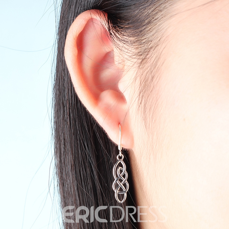 MarkChic Attractive S925 Sterling Silver Drop Earring