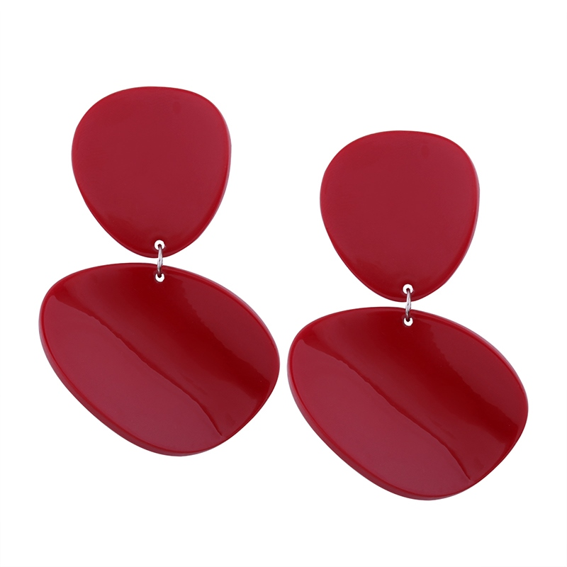 Ericdress Personal Red Fashionable Earring for Women