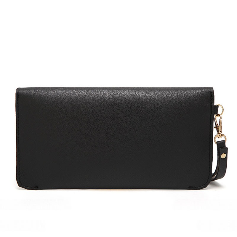 Ericdress Simplicity Solid Color Magnetic Snap Purse