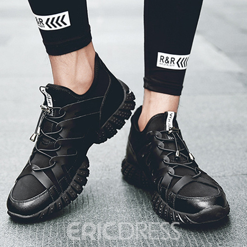 Ericdress All Match Breathable Low-Cut Patchwork Men's Athletic Shoes