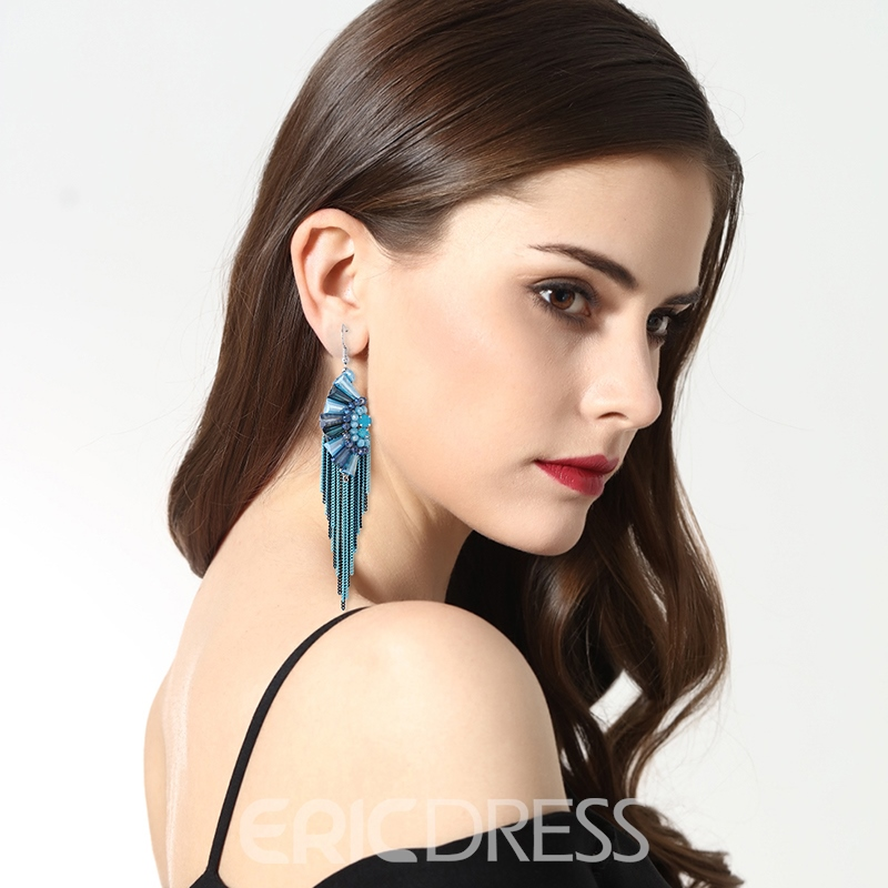 Ericdress Bohemia Style Tassel Fashion Earring