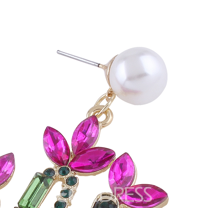 Ericdress Splendid Rhinestone Women's Drop Earring