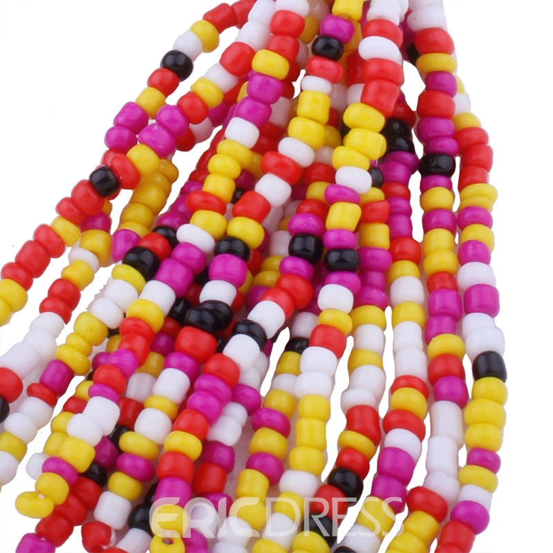 Ericdress Solid Color Beads Tassel Women's Earring