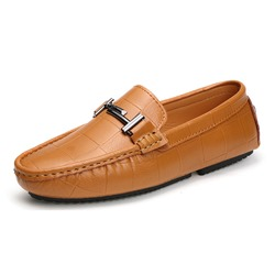Ericdress Comfy Plain Slip-On Mens Loafers