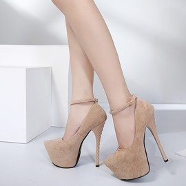 Ericdress New Style Plain Platform Stiletto Heel Prom Shoes