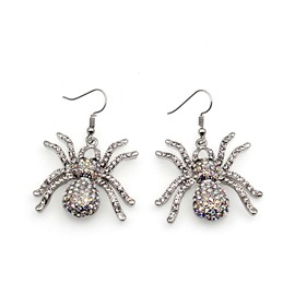 Ericdress Vintage Spider Creative Halloween Earring