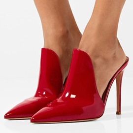 Ericdress Patent Leather Women's Mules Shoes