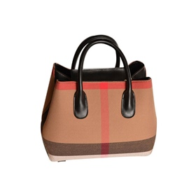 Ericdress Simplicity Color Block PU Handbag