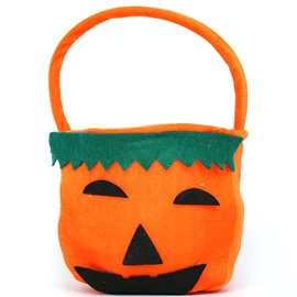 Ericdress Halloween Costume Pumpkin Flannelette Purse