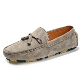 Ericdress Round Toe Slip-On Plain Men's Loafers