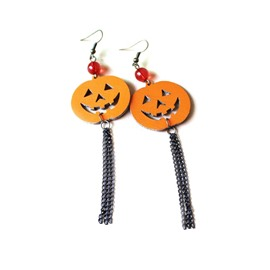 Ericdress Creative Pumpkin Halloween Earring