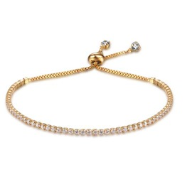 MarkChic All Match Diamante Adjustable Accessories Women's Bracelet