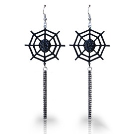 Ericdress Creative Spider Halloween Drop Earring