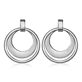 Ericdress Anti Allergy Alloy Hoop for Women
