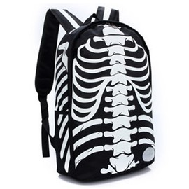 Ericdress Pirate Skull Printing Backpack