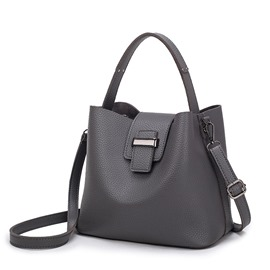 Ericdress Simplicity Solid Color Magnetic Snap Handbag