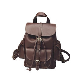 Ericdress Vintage PU Women Backpack