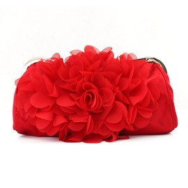 Ericdress soie floral design evening clutch