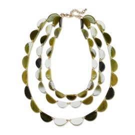 Ericdress Creative Mulitlayer Acrylic Women's Necklace
