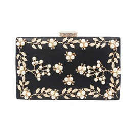 Ericdress Handmade Applique Latch Evening Clutch