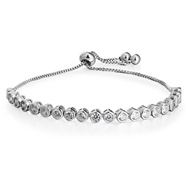 MarkChic Concise Adjustable Zircon Fashionable Bracelet