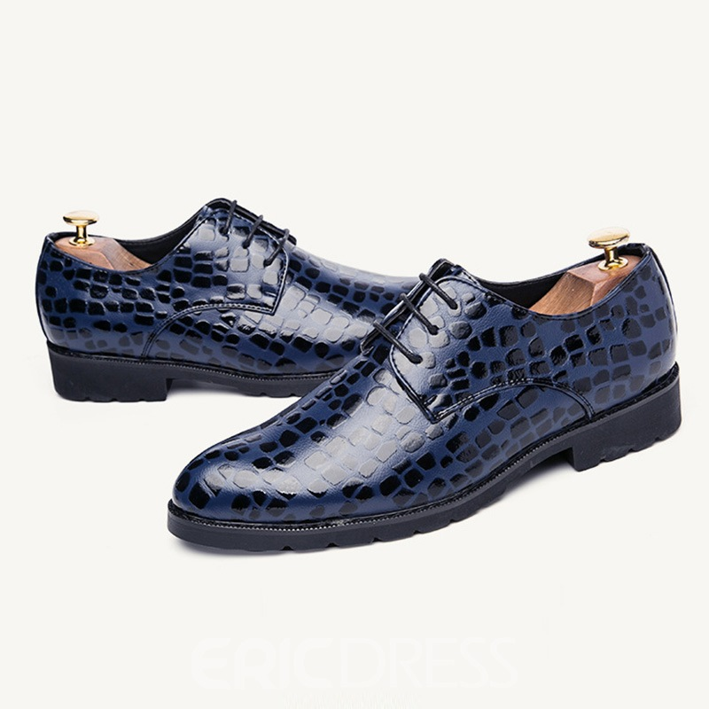 Ericdress Fashion Alligator Low-Cut Mens Oxfords