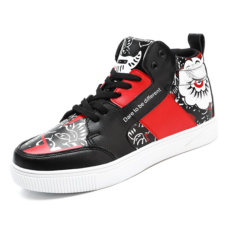 Ericdress All Match Fashion Color Block Mens Skater Shoes