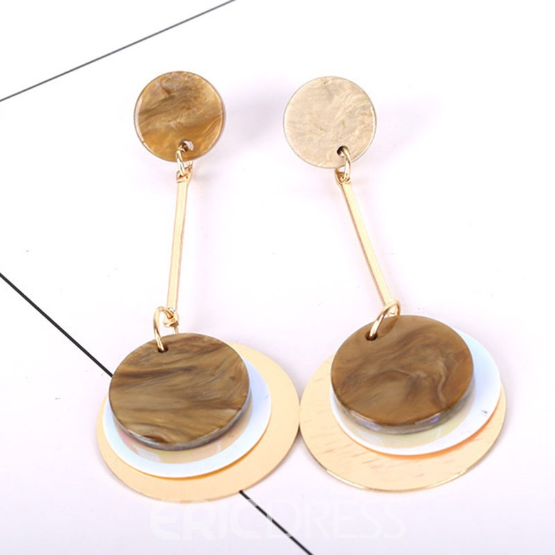 Ericdress Fashionable Acrylic Pendant Earring for Women