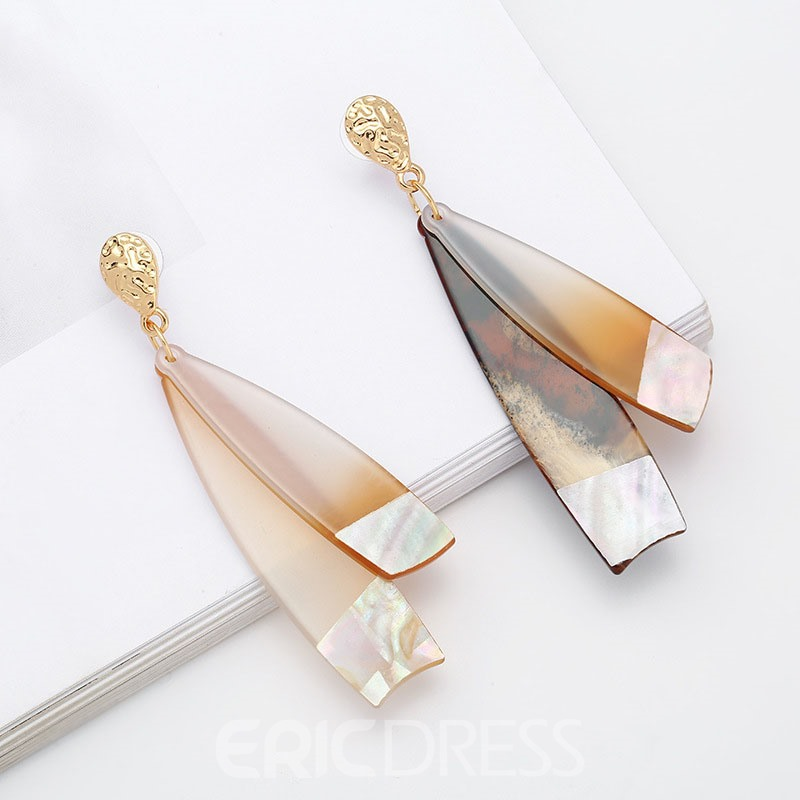 Ericdress Arcylic Drop Earring for Women