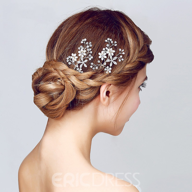 Ericdress U-Mode Hairpin Wedding Accessories Bridal Hair Accessories
