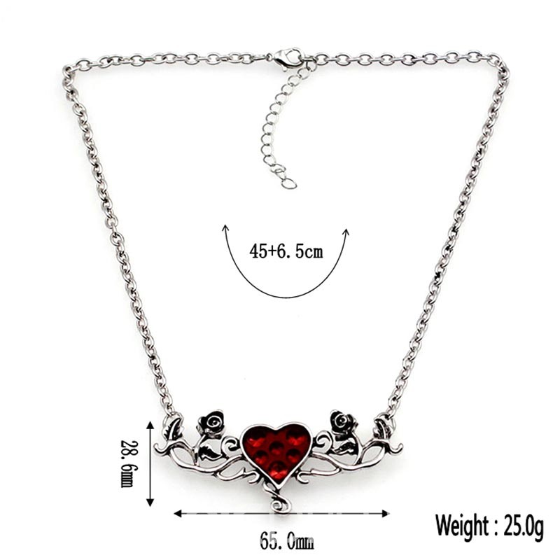 Ericdress Alluring Heart Pendant Women's Halloween Accessories
