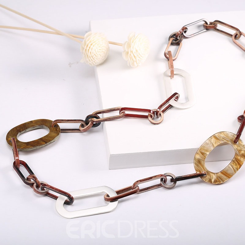 Ericdress Acrylic & Alloy Trendy Women's Necklace