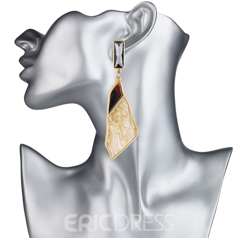 Ericdress Chic Arcylic All Match Earring for Women