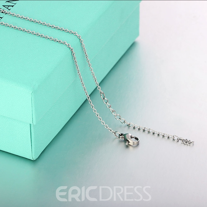 MarkChic Stainless Steel All Match Women's Necklace